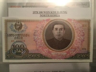 Five Korean Banknotes