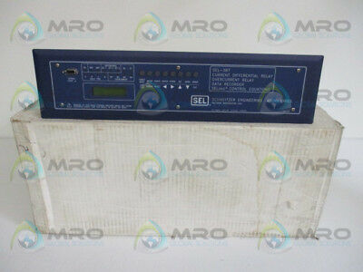 Sel Sel-387 0387503X53X24X1 Overcurrent Relay Data Recorder *new In Box*