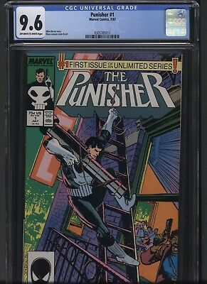 Punisher 1 Marvel 1987 CGC 9.6 ow/w pgs No Reserve .99 bid!