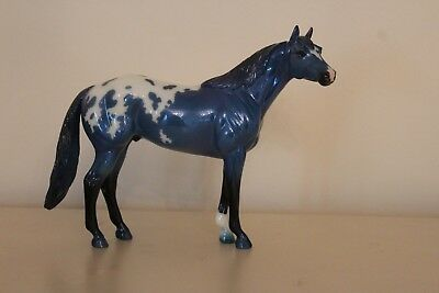 Breyer Blue Calvin Collectors Club 2017 Gamblers Choice Quarter Horse, Appaloosa