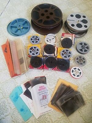 Lot 10 Reels 8mm HOME MOVIES , NEGATIVES, NMPX 1940s-1970s Switzerland family