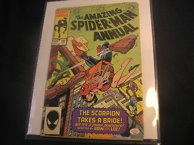 1984 Spiderman Comic book #18 Signed by Stan Lee - COA PAAS
