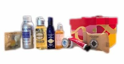 L'Occitane En Provence Holiday 8 PC Gift Set Manosque En Provence Lim. Ed. NEW