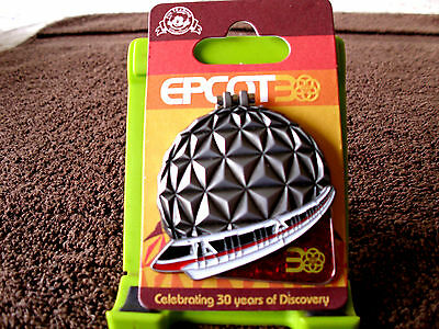 Disney * EPCOT 30TH Anniversary MONORAIL - Mickey & Friends * Hinged Trading Pin
