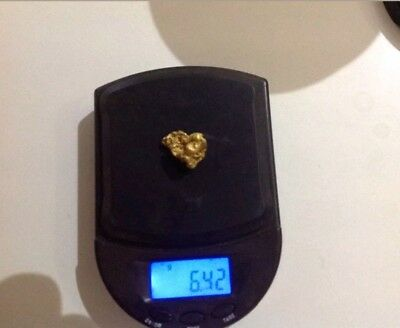 6.42 gram nugget of Western Australian gold