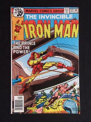 Iron Man #121 MARVEL 1979 - NEAR MINT 9.0 NM - Sub-Mariner app - John Romita Jr.