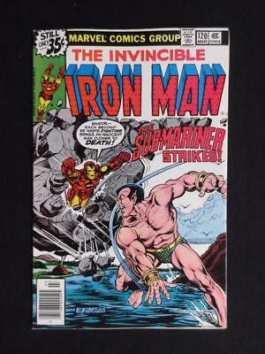 Iron Man #120 MARVEL 1979 - HIGH GRADE - Sub-Mariner app - John Romita Jr.!!!