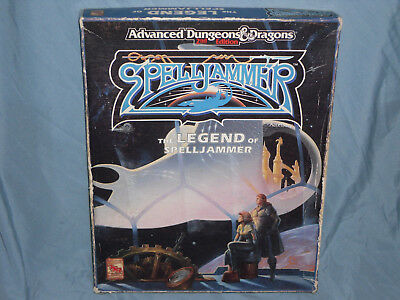 AD&D 2nd Ed Boxed Set: THE LEGEND OF SPELLJAMMER (Hard to Find - Contents -EXC!)