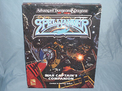 AD&D 2nd Edition SPELLJAMMER Box Set:  WAR CAPTAIN'S COMPANION (Rare & UNUSED!!)