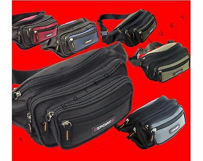 Waist Fanny Pack Belt Bag Pouch Travel Sport Hip Purse Men Women Bum