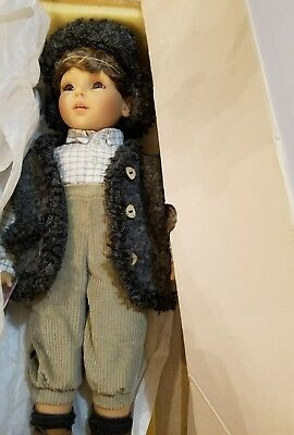 """Gotz Doll 21in. """"IVO"""" from the Principessa Collection NEW IN BOX"""