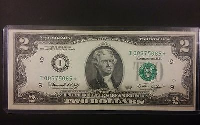 1976 Two Dollar Star Note, I-Issued