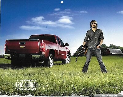 ERIC CHURCH Magazine Calendar Photo Clipping