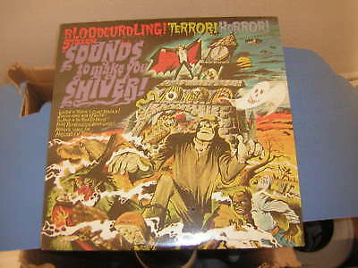 Halloween Lp Factory Sealed Sounds To Make You Shiver 1974 Bloodcurling Terror