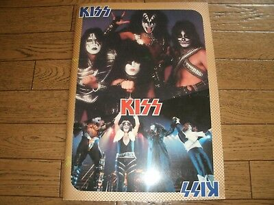 KISS LOVE GUN JAPAN TOUR 1978 Vintage Tour Program