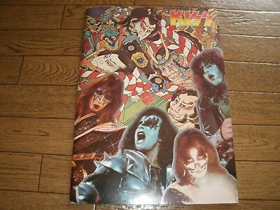 KISS SNEAK ATTACK JAPAN TOUR 1977 Vintage Tour Program