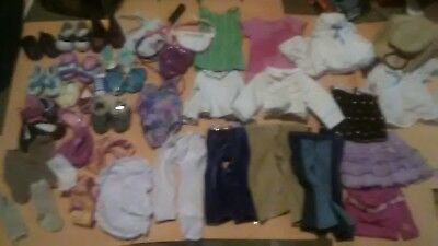 """American Girl 18"""" Doll Clothes Outfit Shoes Accessories Huge Lot"""