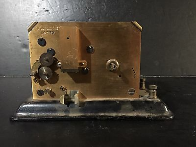 Antique Foote & Pierson Company Telegraph Register Recorder Missing parts