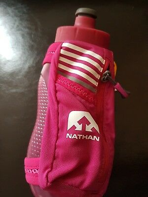 NATHAN Speedmax plus sports bottle red