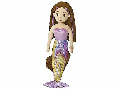 Extra Large 27 inch Sea Sparkles~Mermaid Doll~Pearl~Soft Toy~Aurora 33052~New