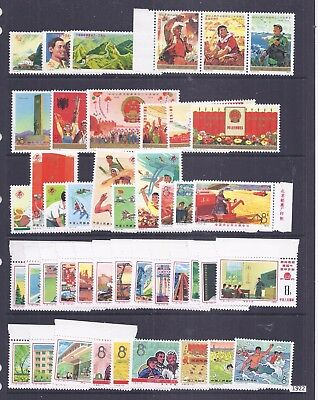 China PRC accumulation of J series issues  MNH