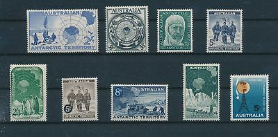 LH12750 Australian Antarctic arctic expeditions fine lot MNH