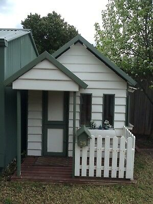 Weatherboard Cubby House For Sale