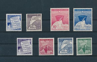 LH12953 Chile antarctic expedition fine lot MNH
