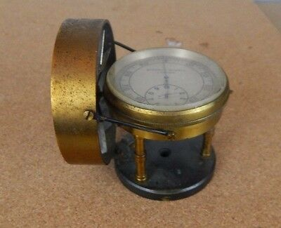 Victorian Anemometer Stephen Humble London Air meter with propeller