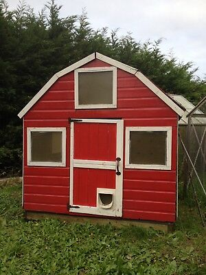 Dutch Barn Wooden Playhouse 6x6 Childrens Wendy House