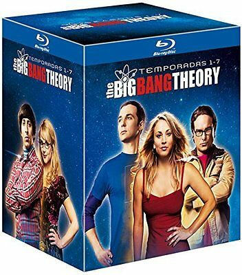 Pack  Blu-Ray   The Big Bang Theory  Temporadas  1 - 7