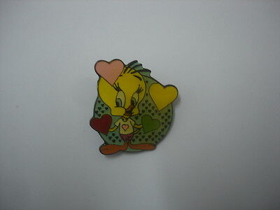 New Looney Tunes Tweety Bird badge lapel hat pin birthday party gift #5