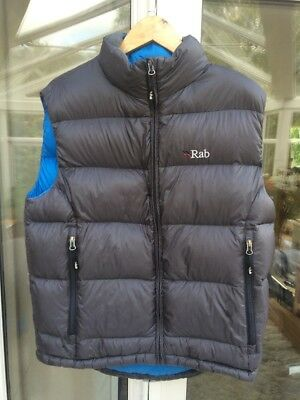 Rab Neutrino Down Gilet / jacket / Body Warmer Medium Men's