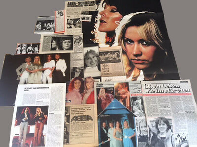 ABBA clippings-poster-pin up