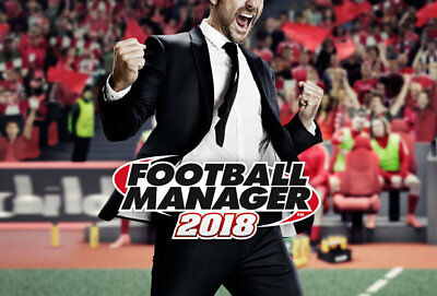 Football Manager 2018 Steam Account
