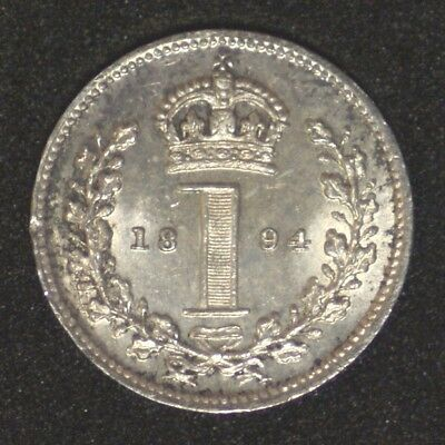 1 Penny 1894 Maundy - UNC - Queen Victoria - Great Britain