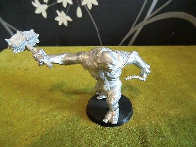 Warhammer Lotr - Moria Cave Troll With Hammer & Chain (Metal Model)