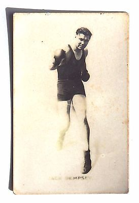 """Monarchs of the Ring """"Jack Dempsey"""" 1923 Trading Card"""