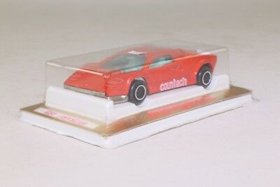 Majorette 237; Lamborghini Countach; Red 'Countach'; Excellent Sealed in Pack