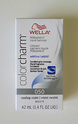 Wella Color Charm 050 Cooling Violet/Light Drabber Additive Hair Toner