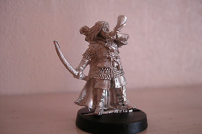 Warhammer Lotr - Blackroot Vale Command Horn Blower - Rare Pose!!