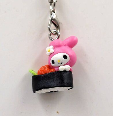 Sanrio My Melody Coffee and Sushi Mini Figure Strap My Melody Sea Urchin Sushi