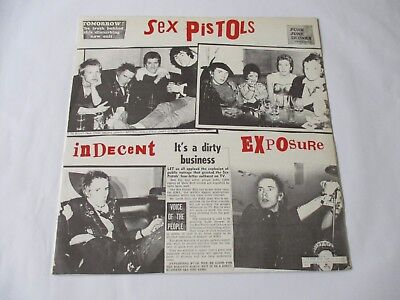 The Sex Pistols - Indecent Exposure  Lp (Orig)  Punk/77