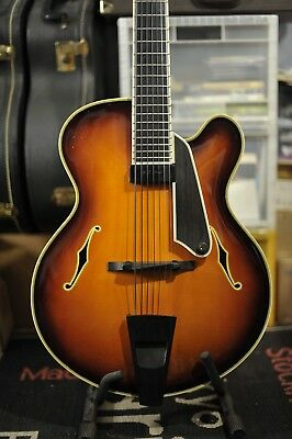 Archtop Guitar Bill Moll , 7 Strings - USA , 2000s - VERY GOOD CONDITION!