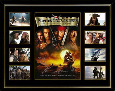 Pirates Of The Carribean Curse Of The Black Pearl Framed Memorabilia