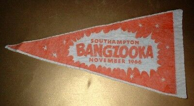 VINTAGE 1966 SOUTHAMPTON HAMPSHIRE CUBS SCOUTS CLOTH PENNANT - Collectable