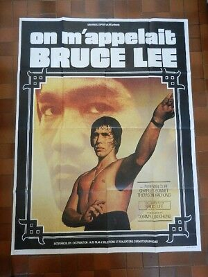 14/ Poster Affiche De Cinema 120X160 On M'appelait Bruce Lee Karate Kung-Fu