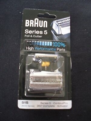 BRAUN 51S Series 5 Foil & Cutter pack