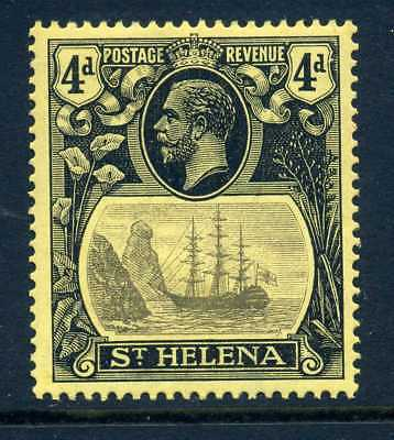 St helena 1922 4d very fine MLH