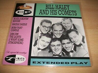 "Bill Haley And His Comets""(Reissue Ep Vinyl Record)"